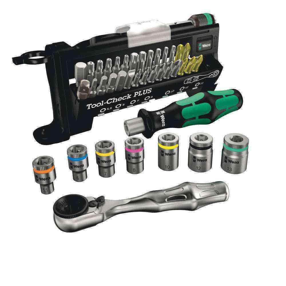 Wera Tool-Check Plus Lokmalı Cırcır Kollu Bits Set 05056490001