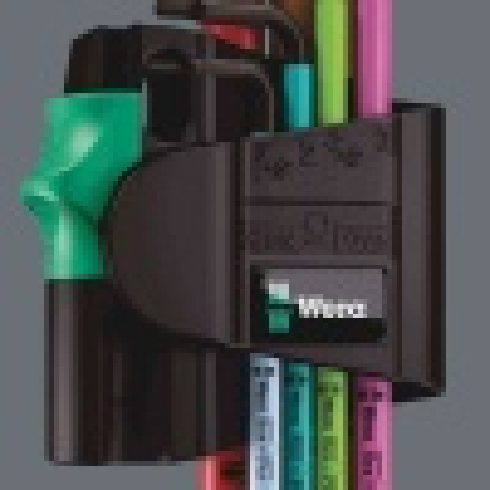 Wera 950 SPKL/7 Hex-Plus Renkli Mıknatıslı Alyan Seti 05022534001