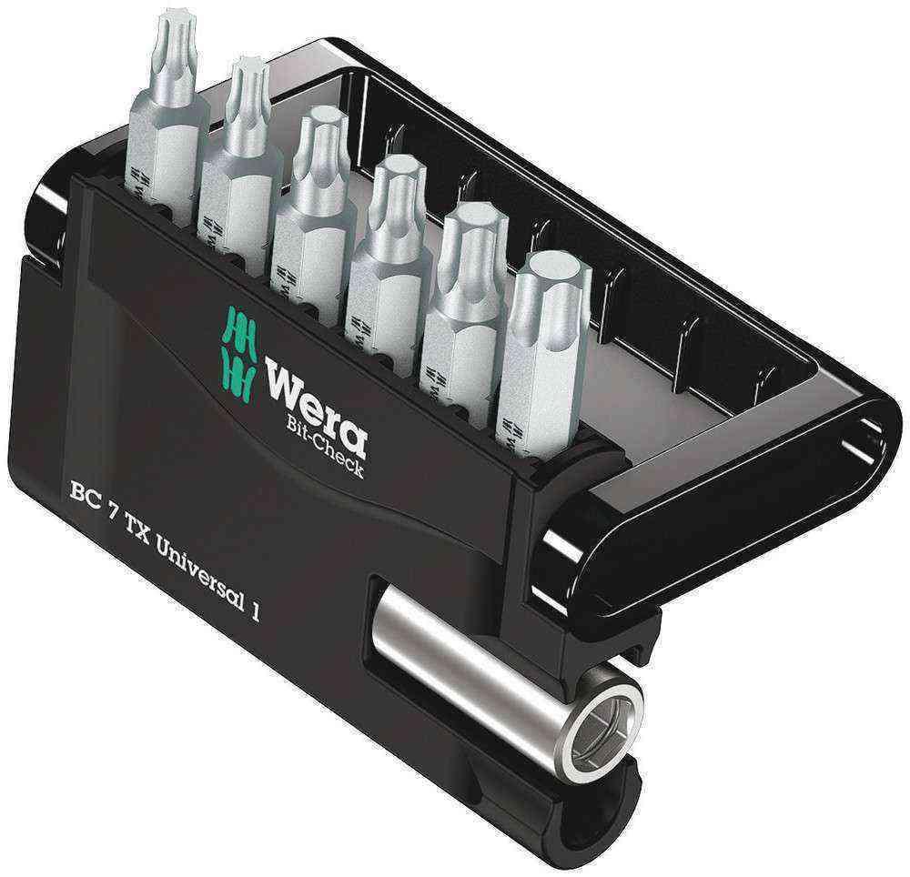 Wera Bit-Check 7 TX Universal Bits Set 1 05056294001