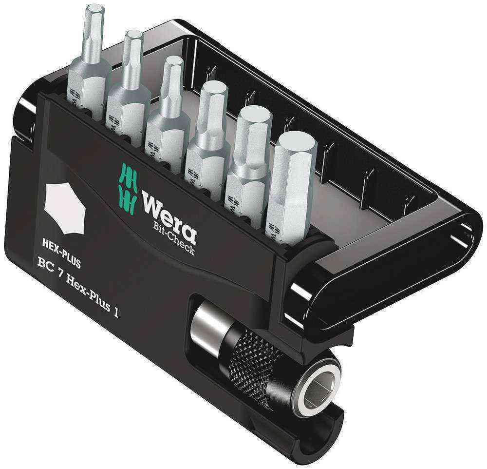 Wera Bit-Check 7 Hex-Plus 1 05056168001