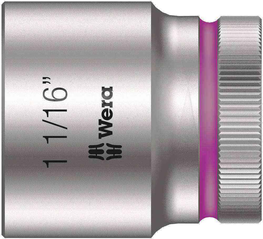 Wera 8790 HMC Zyklop 1/2 Lokma 1 1/16 05003632001