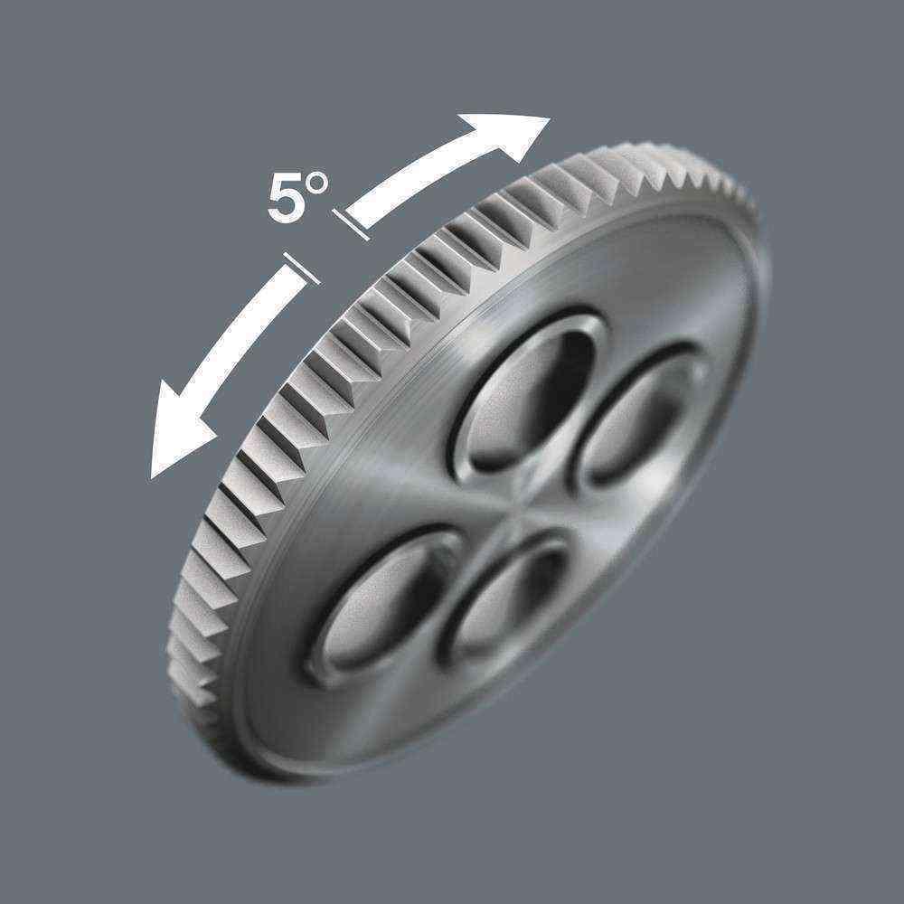 Wera K. Kompakt Zyklop Cırcır Karma Set 1/4 Set 05051045001