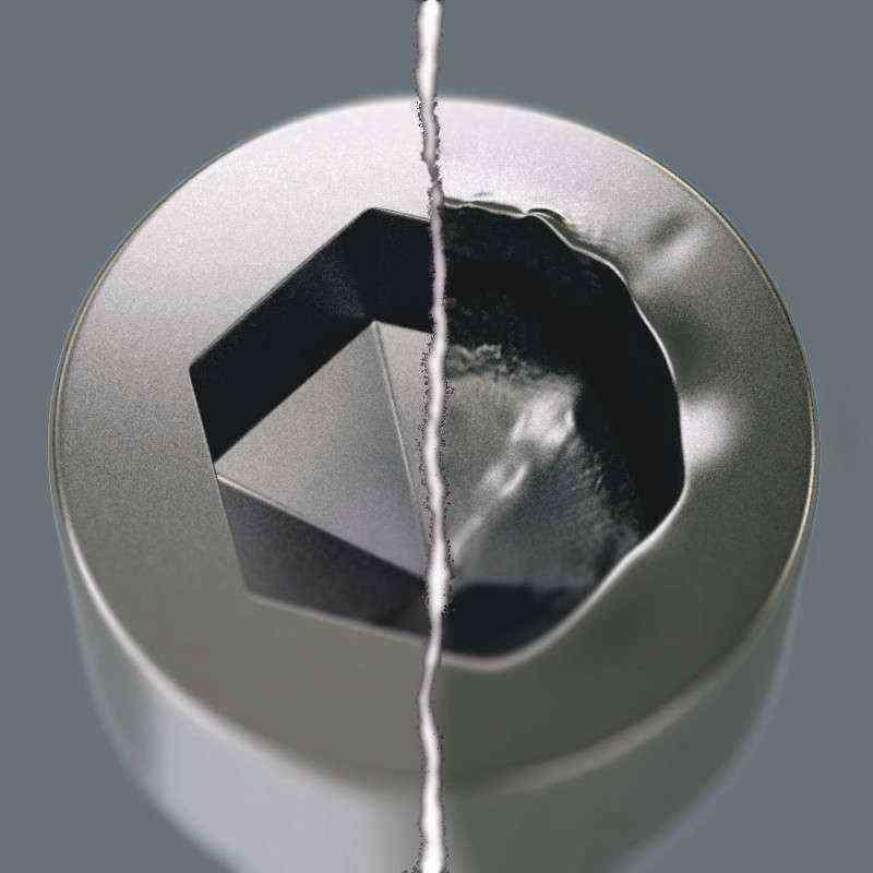 Wera 3950/9 PKL Top Baş Paslanmaz Metal Alyan Set 05022720001