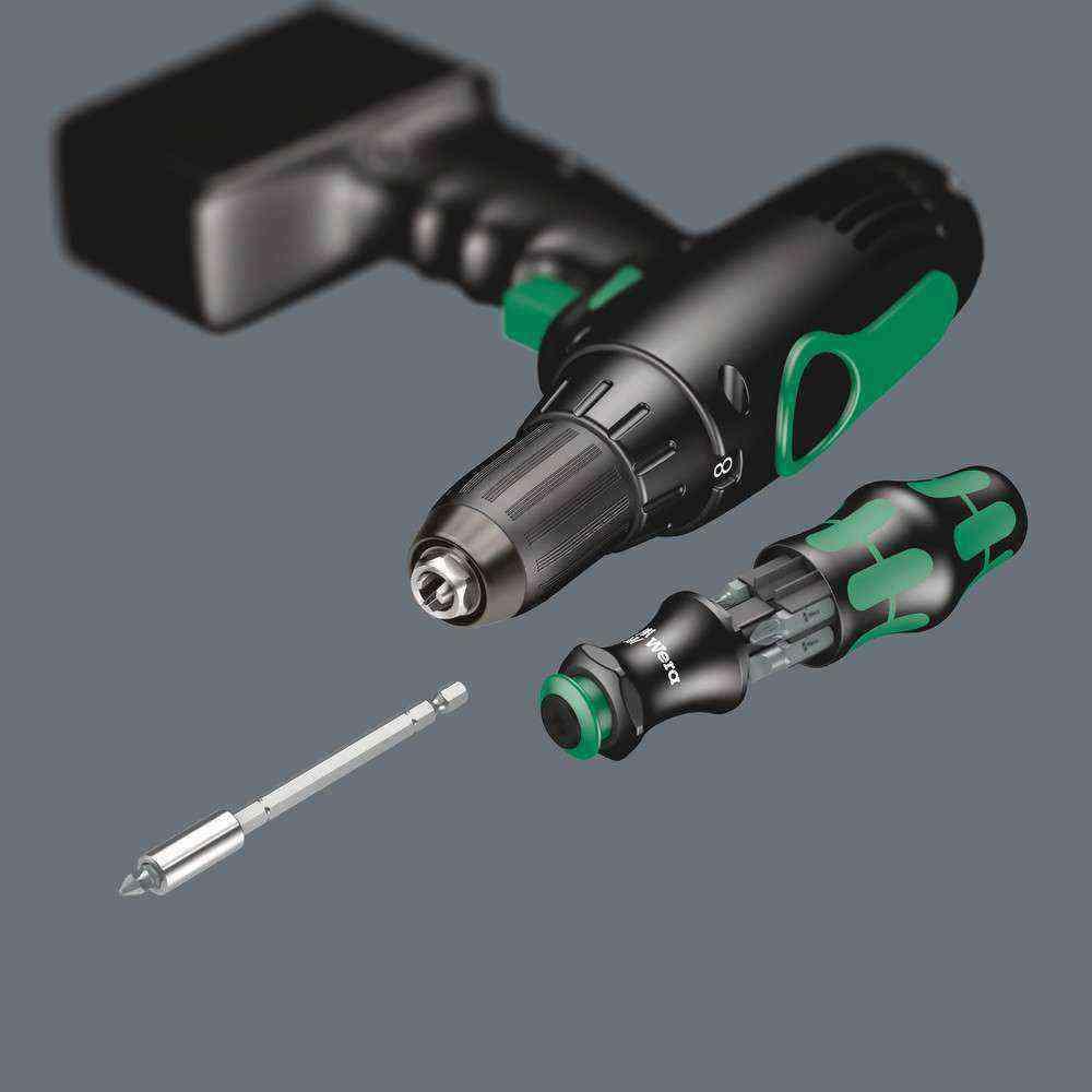 Wera Kraftform Kompakt 28 Uzatmalı 6 lı Bits Set 05073240001