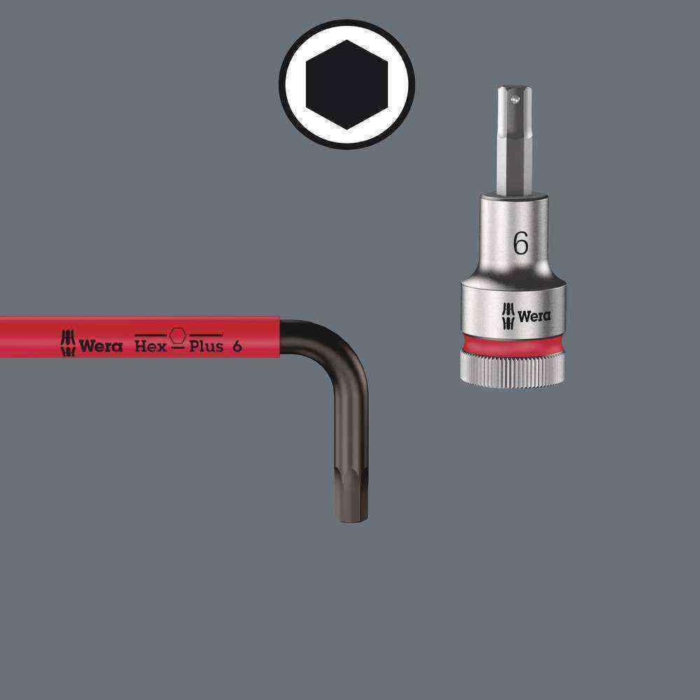 Wera 950 SPKL Hex-Plus Renkli Topbaş Alyan 2,5 mm 05022604001