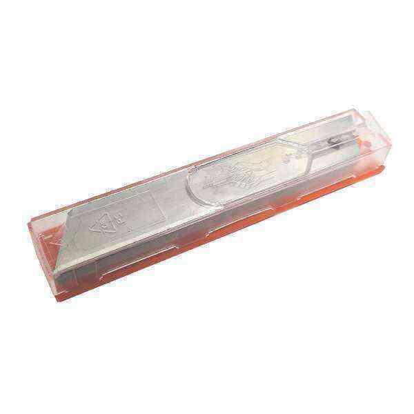 Lutz Tek Parça Kırılımsız Büyük Maket Bıçağı 10 Adetli Paket