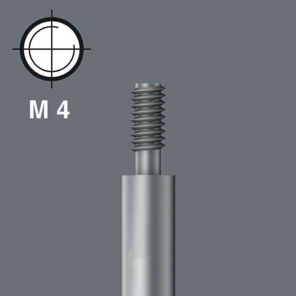 Alveta 851/11 M4 Ph/Yıldız 2x50mm Bits Yivli/Vidalı